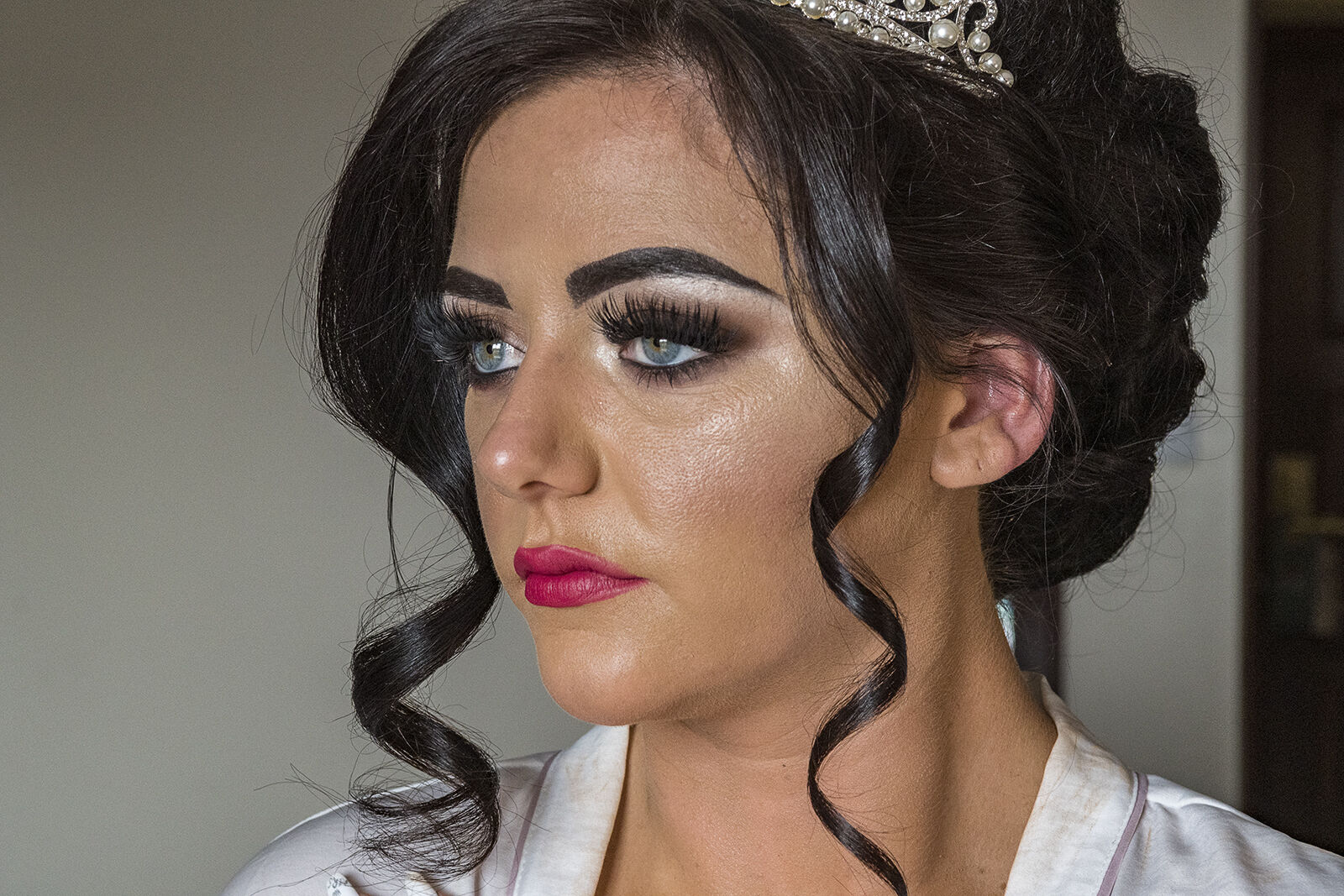 Delillah Just Before Her Wedding, Dublin, Ireland 2020