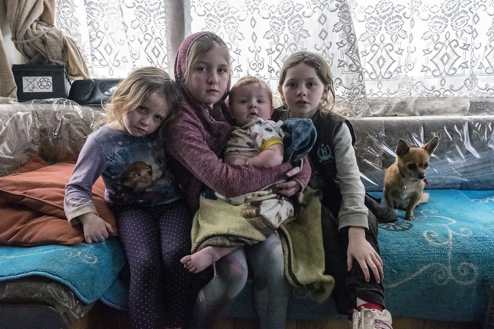 Diane, Mary, Mikey and Biddy, Reilly Siblings, Tipperary, Ireland 2019