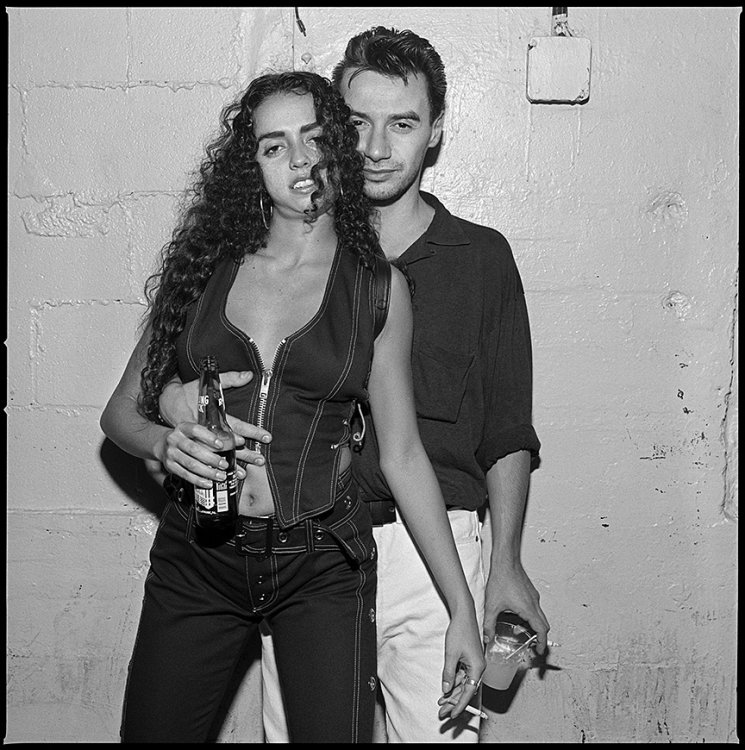 Eliza and Christophe, Bill's Bar, Boston 1994