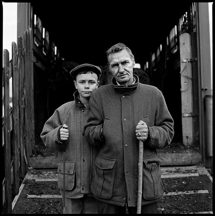 Father and Son, Ballinasloe, Galway, Ireland 2014
