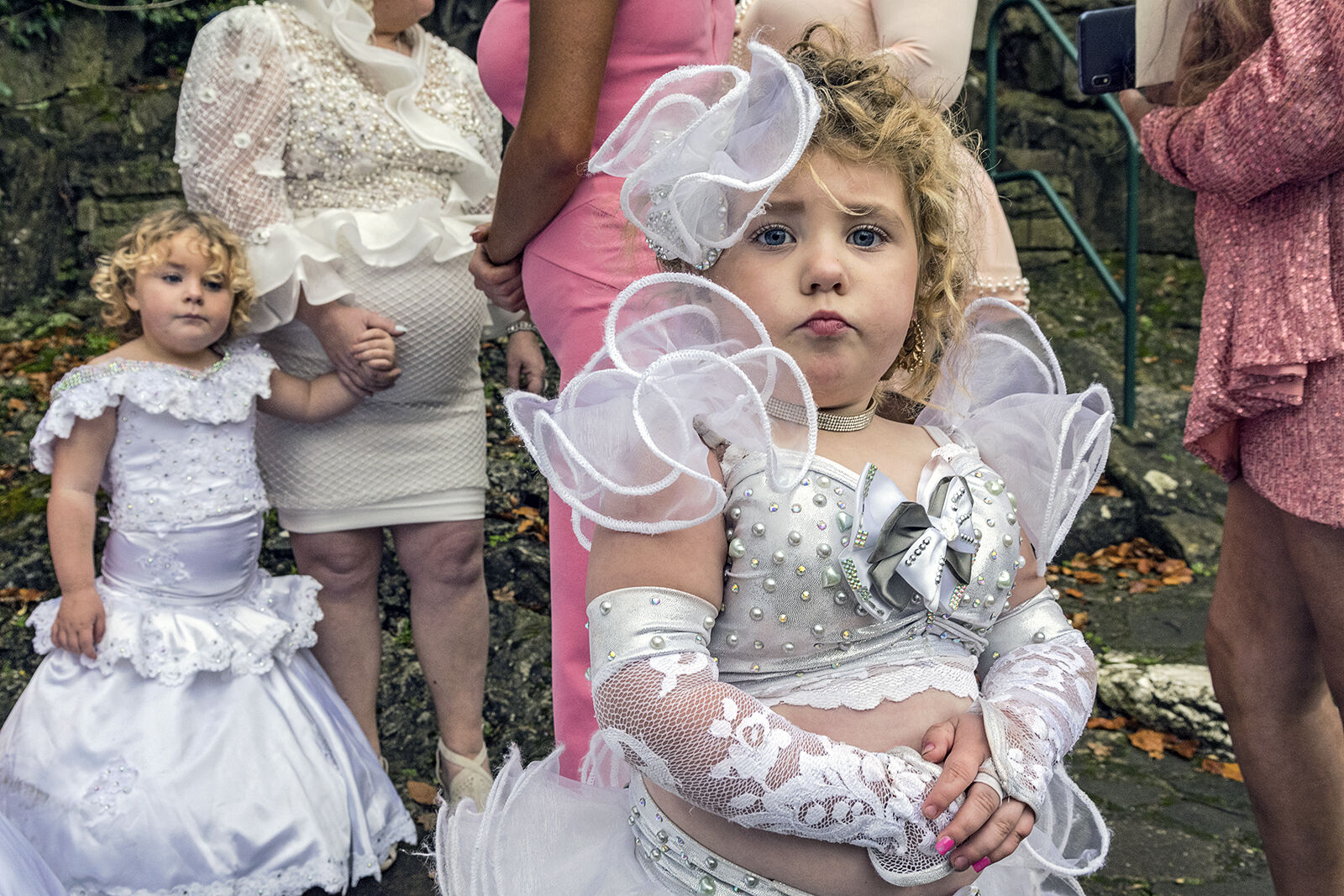 Girl at Wedding, Tipperary, Ireland 2020