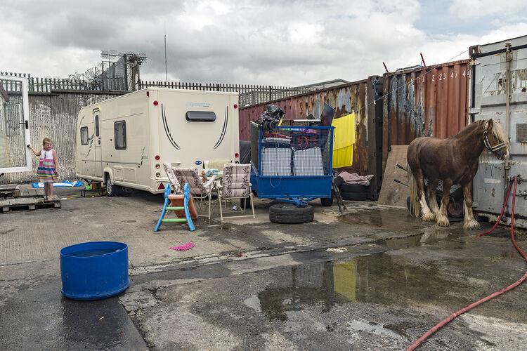 Girl and Pony, Dublin, Ireland 2019