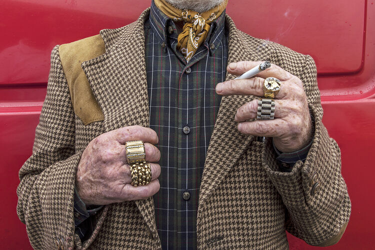 Gold Rings, Galway, Ireland 2019