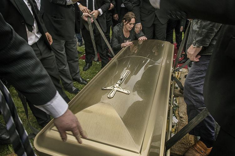 Grieving Daughter, Limerick, Ireland 2019