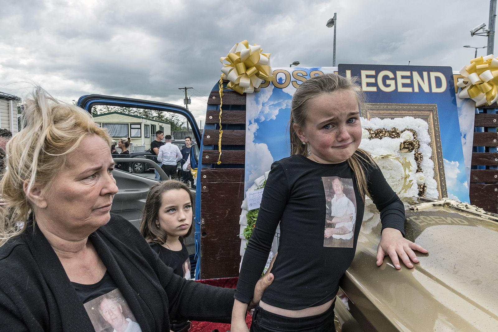 Grieving Granddaughter, Limerick, Ireland 2019
