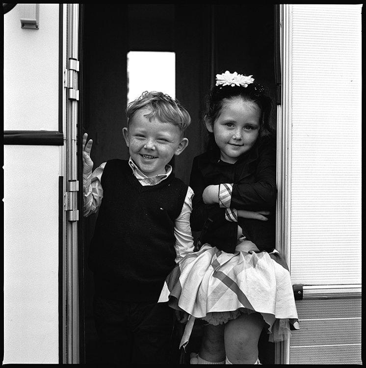Brother and Sister, Ballinasloe, Galway, Ireland 2011
