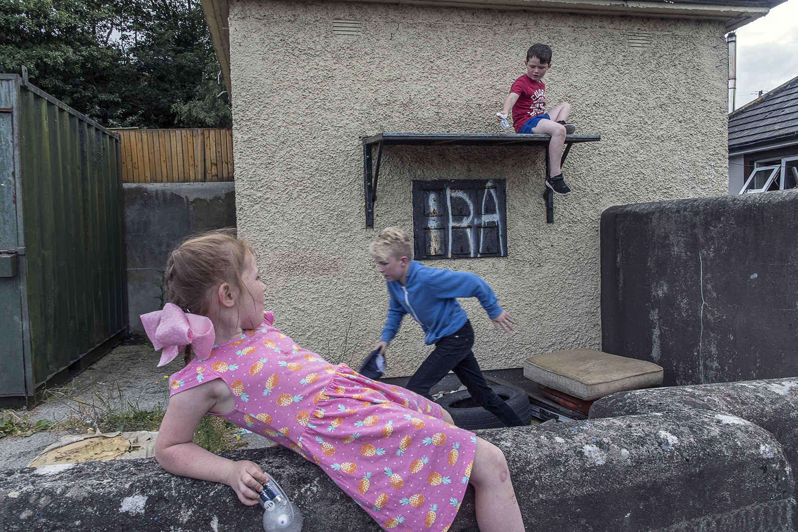 IRA Graffiti, Wexford, Ireland 2019
