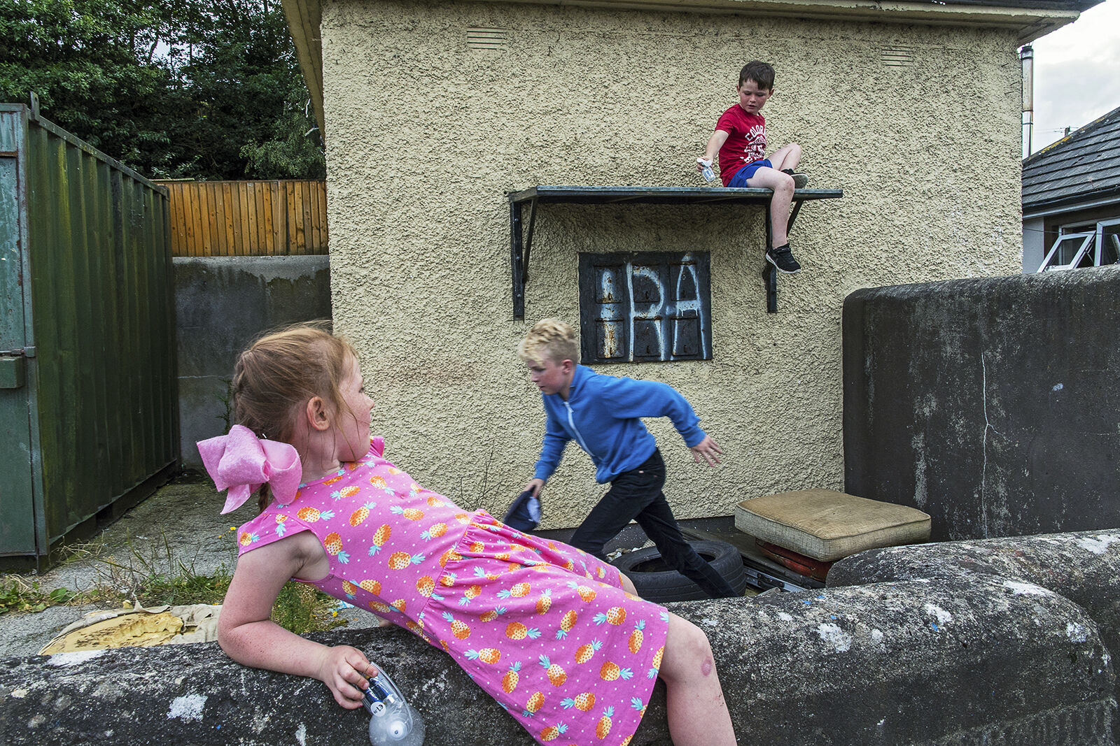 Connors Children Playing, Wexford, Ireland 2019