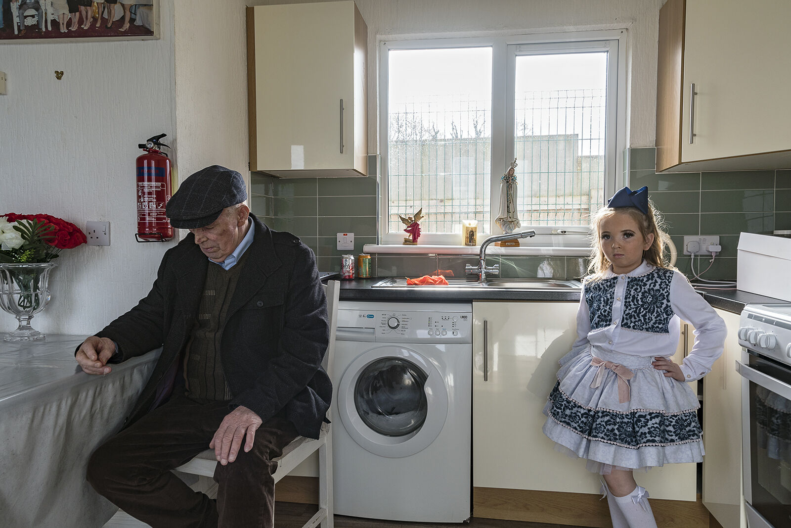 Jack and Granddaughter Channell, Galway, Ireland 2021