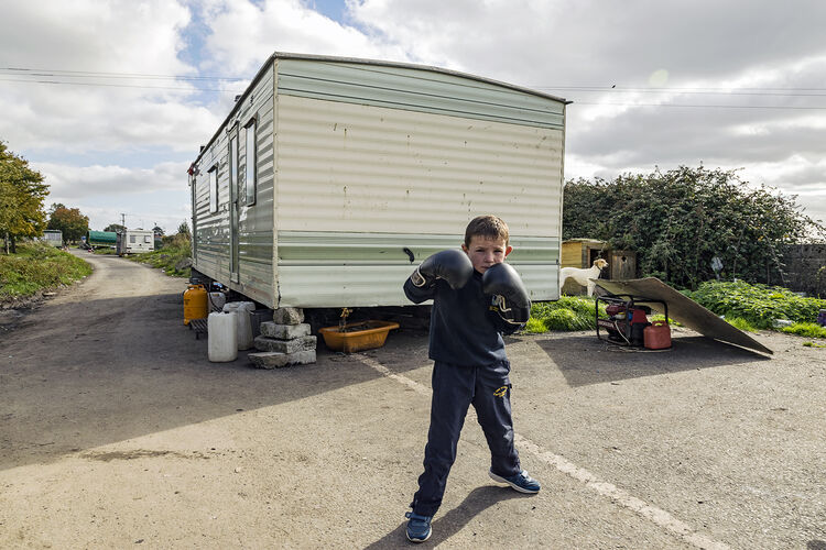 Johnny with Boxing Gloves, Tipperary, Ireland 2018
