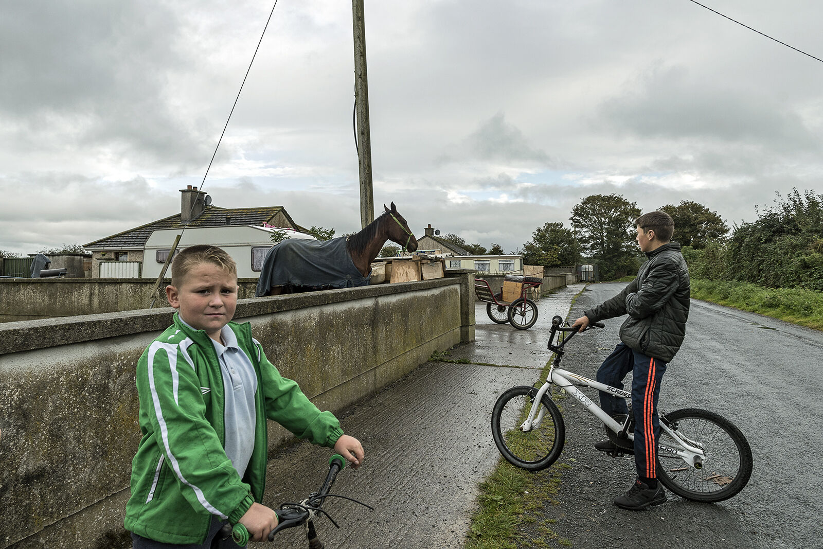 Johnny and Tommy, Tipperary, Ireland 2019