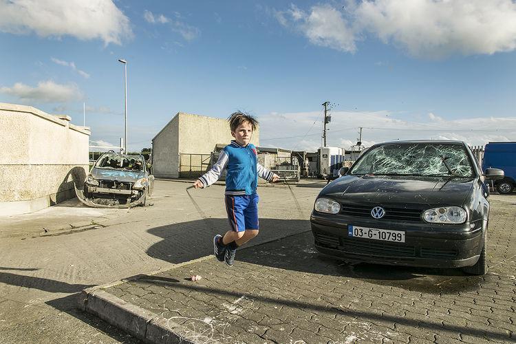 Jump Rope, halting site, Limerick, Ireland 2018