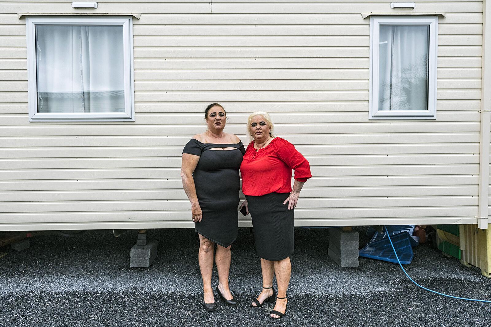 Kathleen and Bernadette, Deaf Sisters, Galway, Ireland 2021