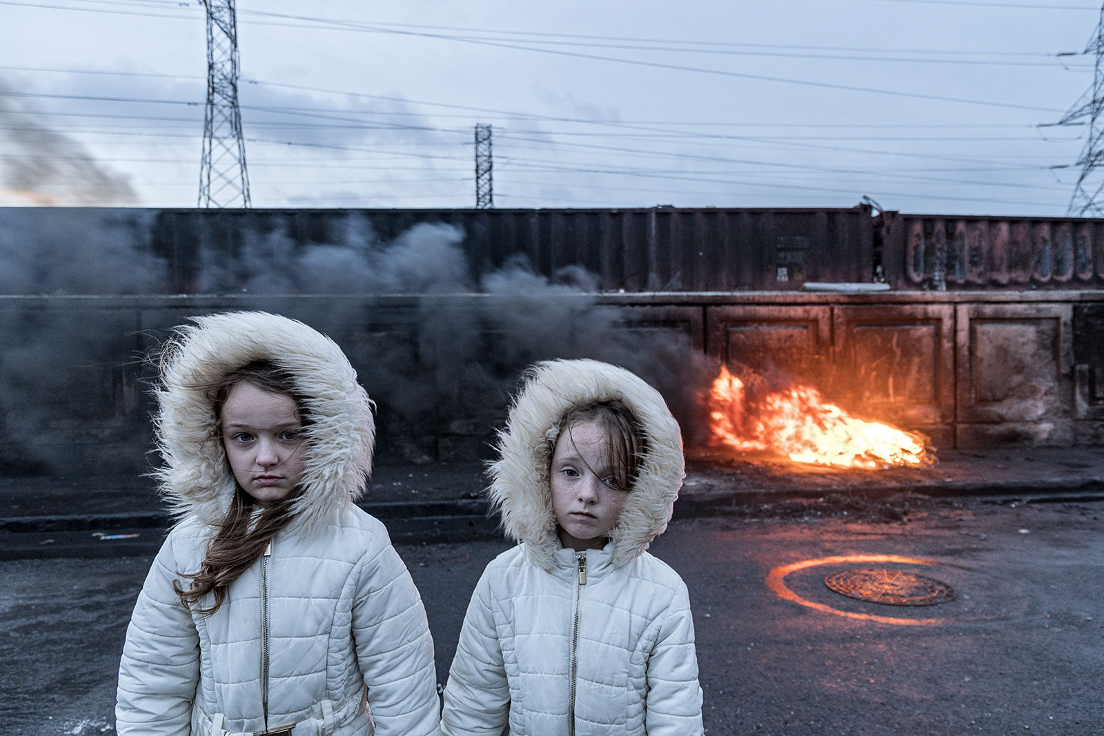 Kathleen and Bridget, Sisters, Dublin, Ireland 2020