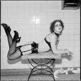 Marie in Ladies Room, Man-Ray Nightclub, Cambridge, Massachusetts 1993