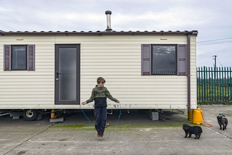 Martin Jumprope with Dogs, Tipperary, Ireland 2019