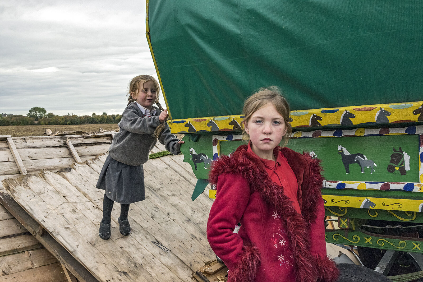 Mary and Diane, Tipperary, Ireland 2018