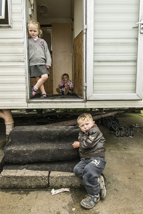Reilly Siblings, roadside campsite, Tipperary, Ireland 2018