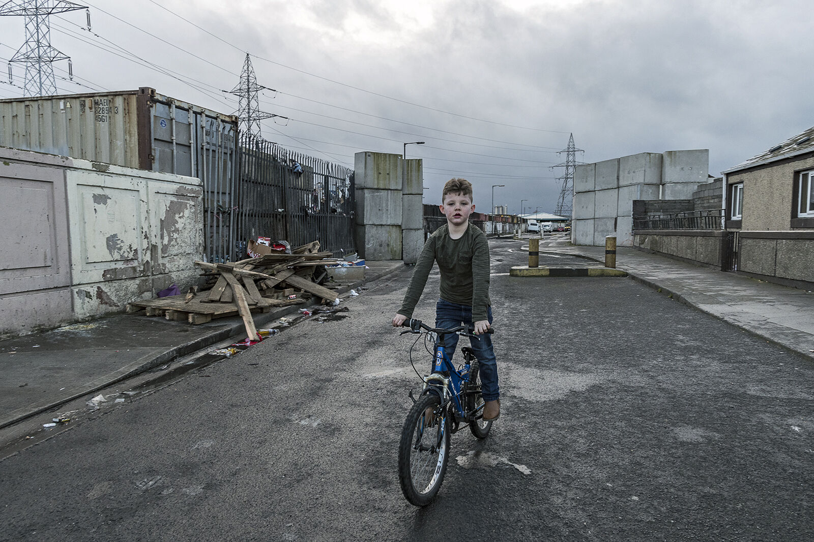 Micheal on Bicycle, Dublin, Ireland 2020