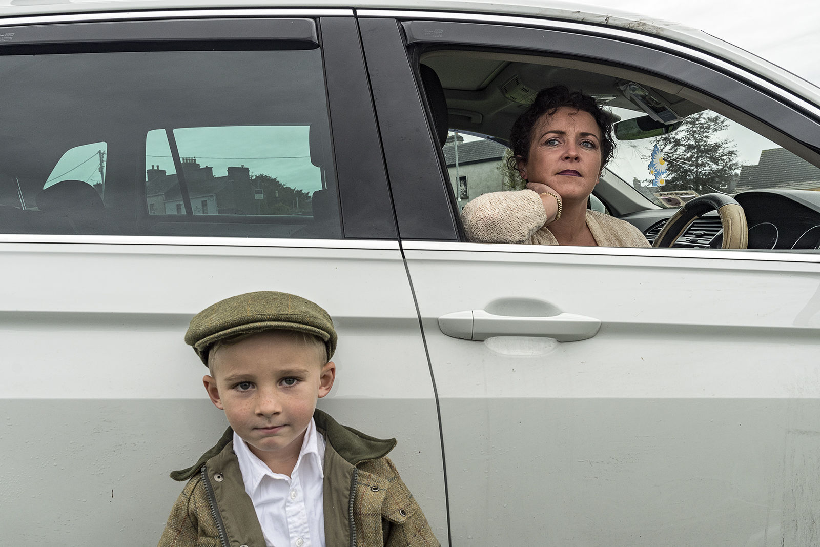 Mother and Son, Ballinasloe Horse Fair, Galway, Ireland 2019