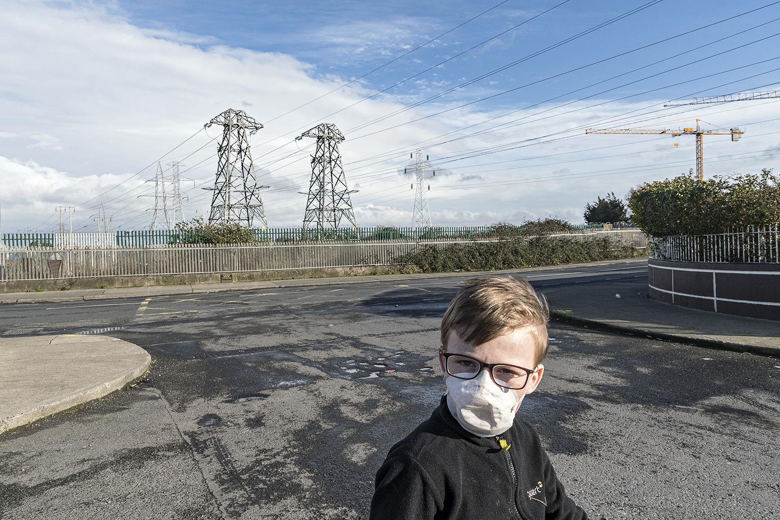 Ned during Coronavirus Outbreak, Dublin, Ireland 2020