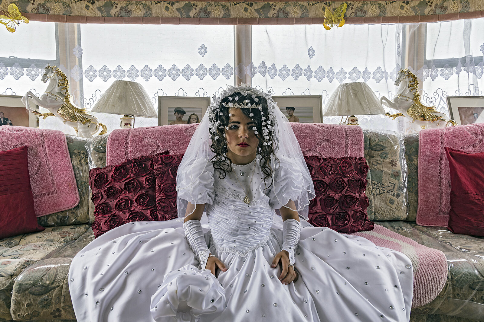 Nikita on her First Holy Communion, Tipperary, Ireland 2019