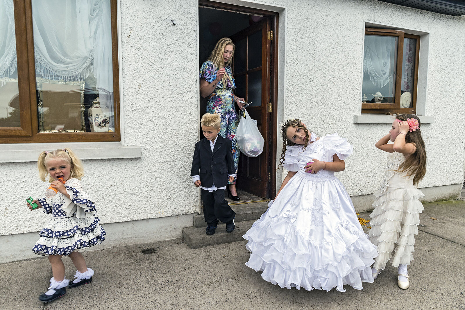 After Nita's Holy Communion Party, Tipperary, Ireland 2019