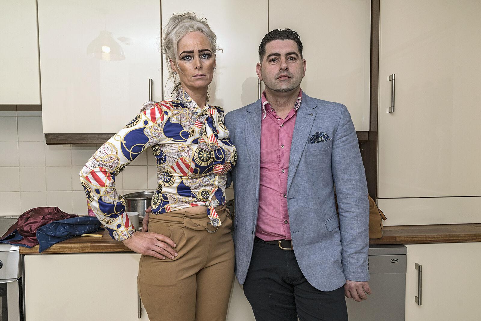 Nora and Paddy, Limerick, Ireland 2020
