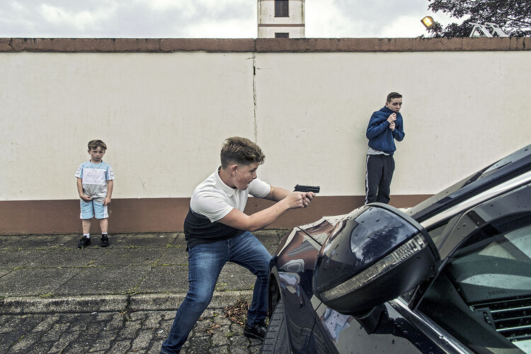 Pellet Gun, Puck Fair, Kerry, Ireland 2019