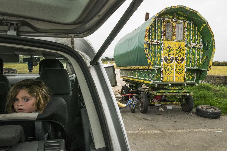 Philomena, roadside campsite, Tipperary, Ireland 2018
