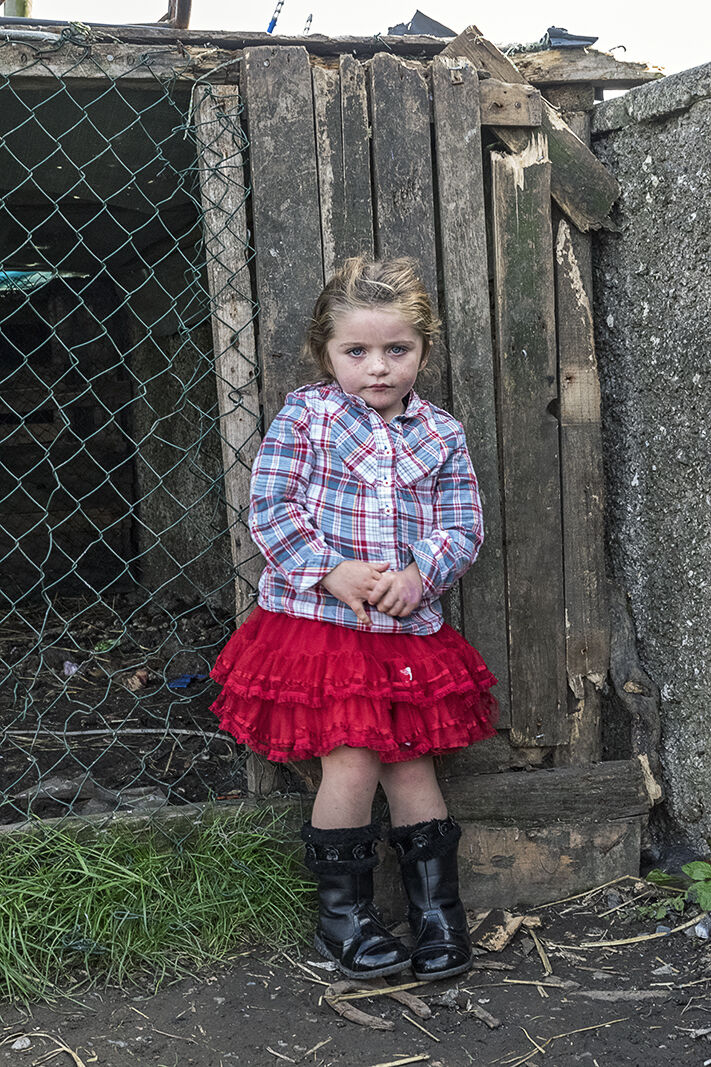 Philomena, Red Skirt, Tipperary, Ireland 2019