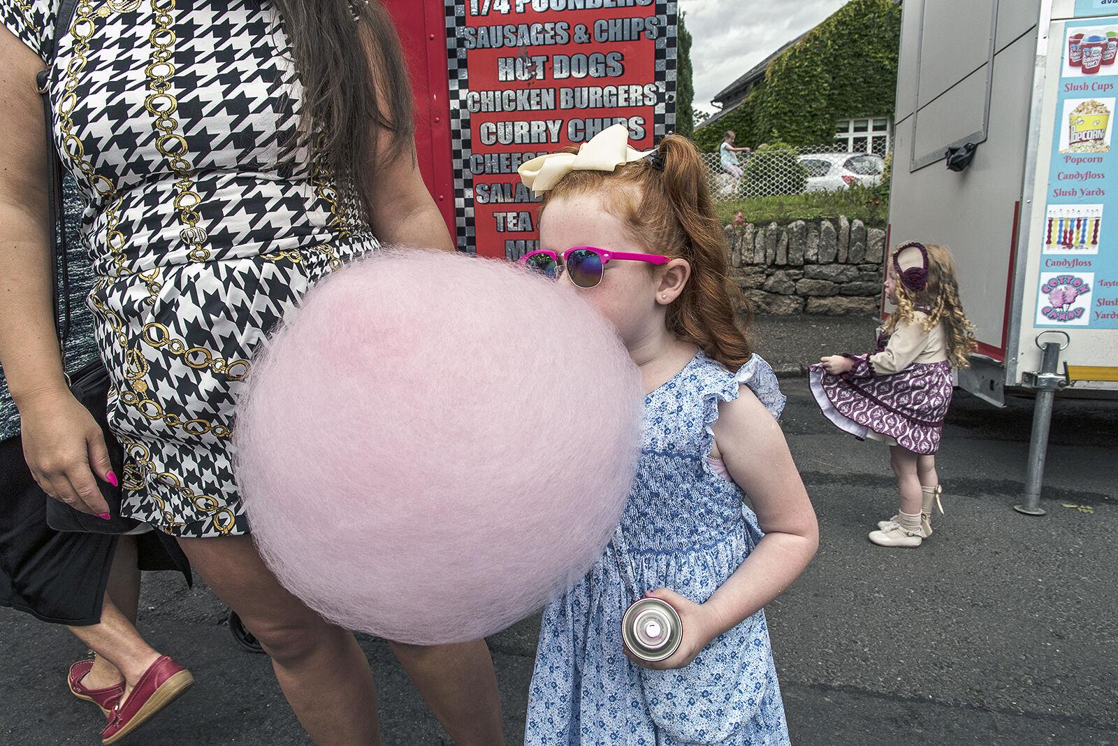 Pink Cotton Candy, Borris Fair, Carlow, Ireland 2019