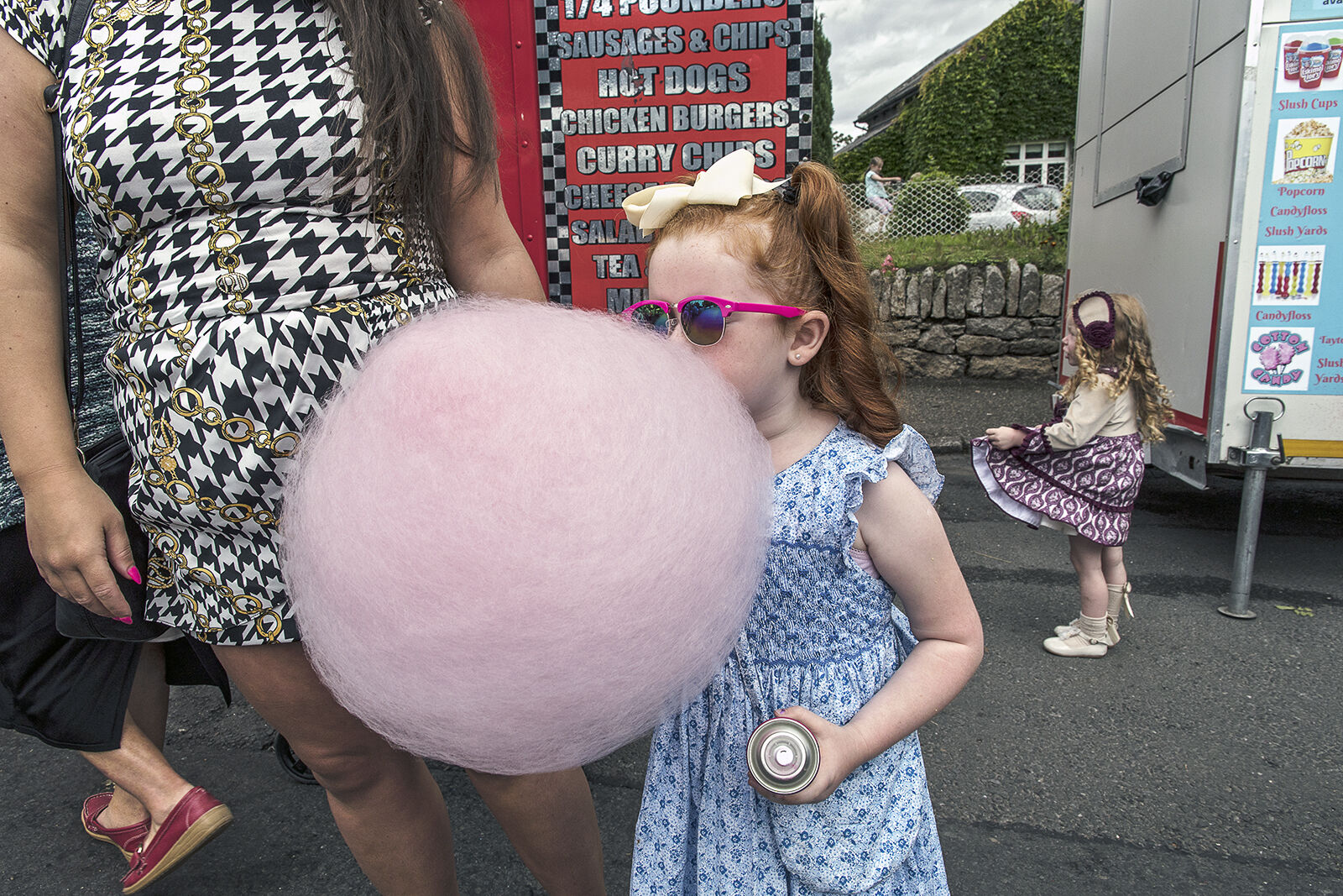 Pink Cotton Candy, Borris Fair, Carlow, Ireland 2019