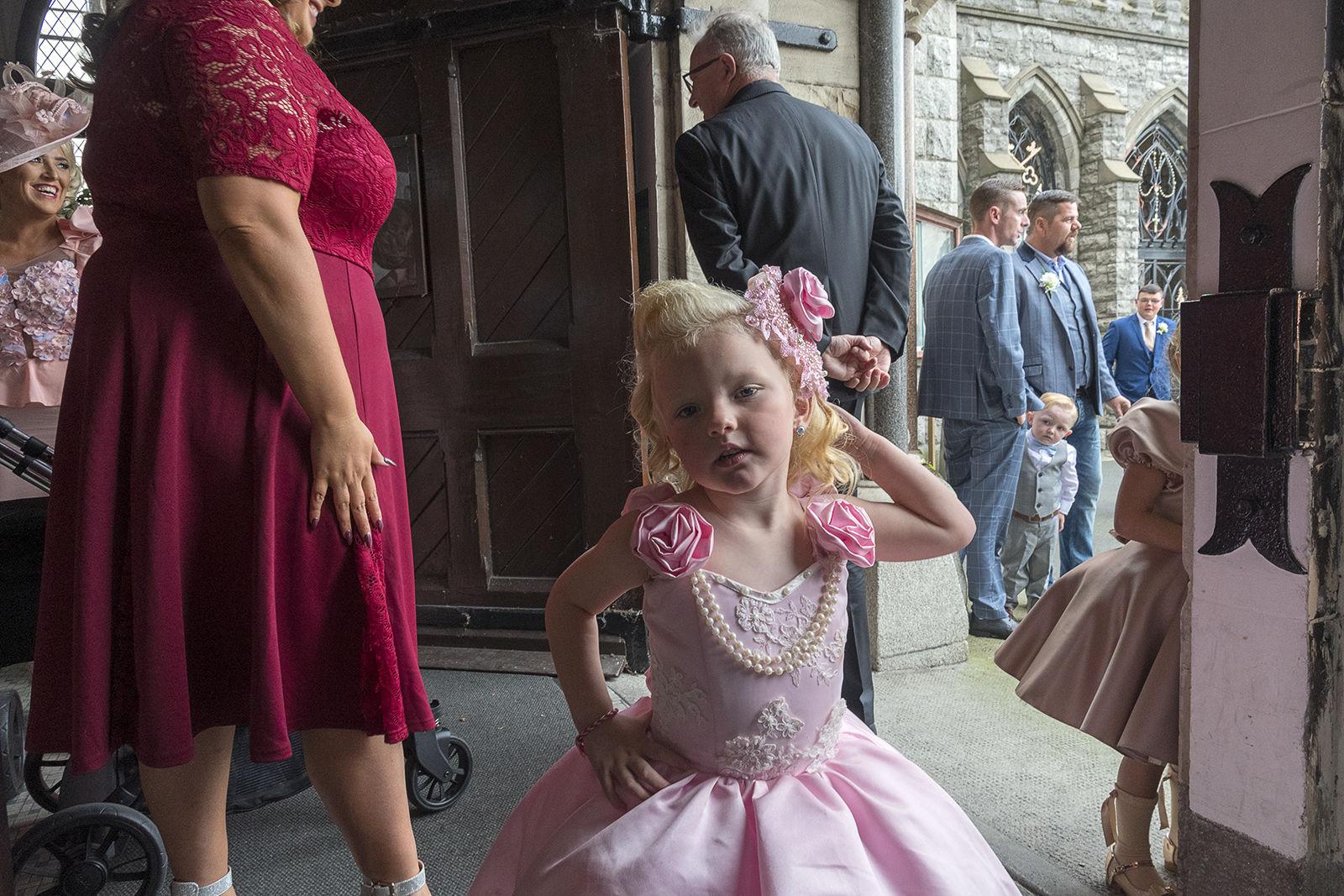 Pink Dress, Dublin, Ireland 2019