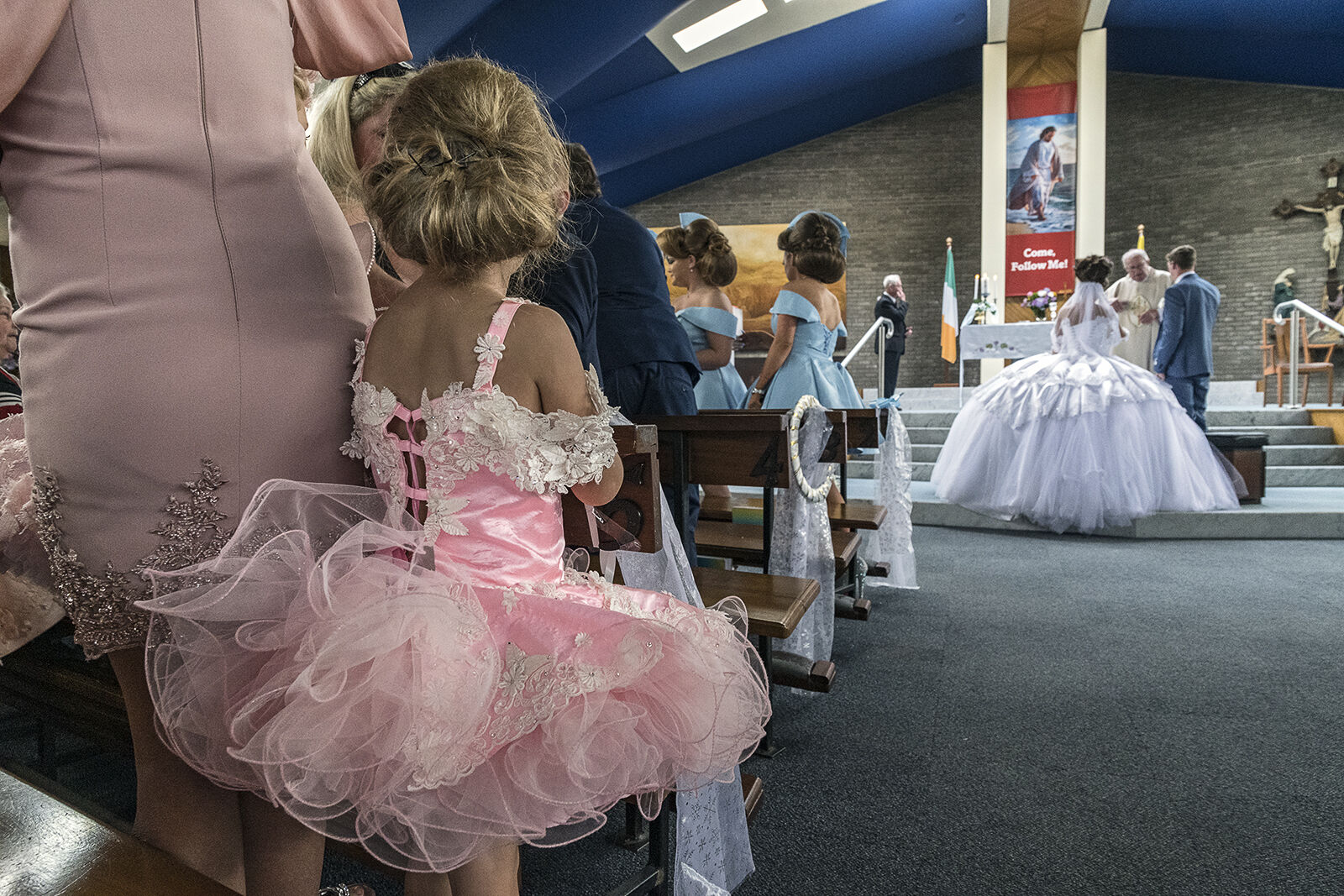 Pink Tutu at Connors Weddings, Wexford, Ireland 2019