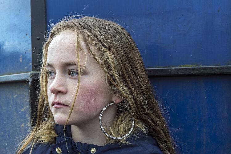 Portrait of Katelyn, Tipperary, Ireland 2019