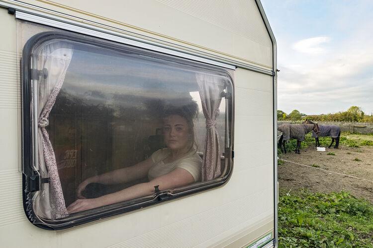 Pricilla In The Window, Tipperary, Ireland 2018