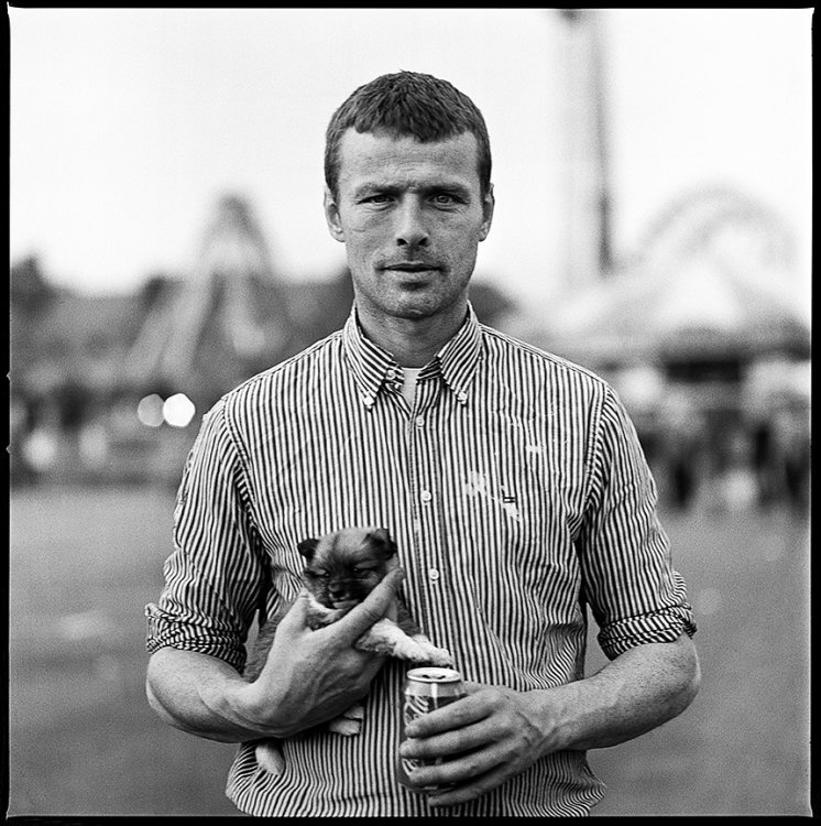 Puppy and Coke, Ballinasloe, Galway, Ireland 2013