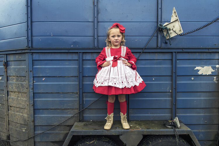 Red and White Dress, Galway, Ireland 2019