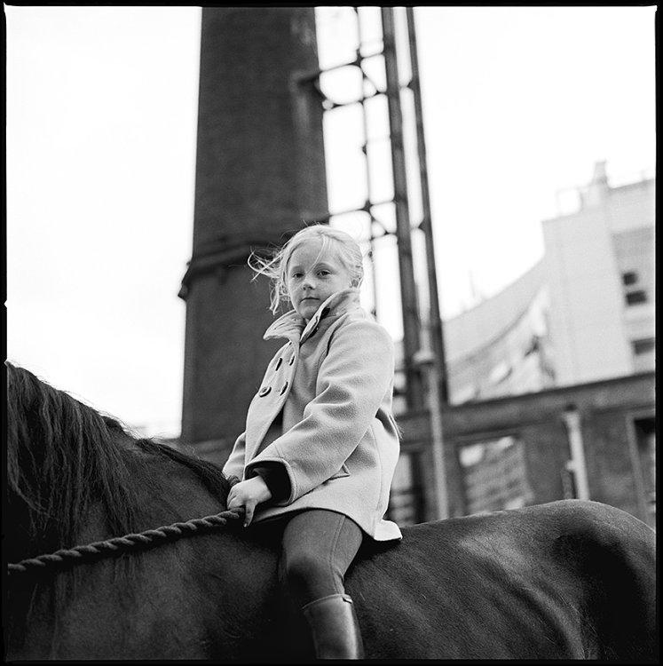 Girl riding on Horse, Dublin, Ireland