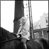 Girl riding on Horse, Dublin, Ireland