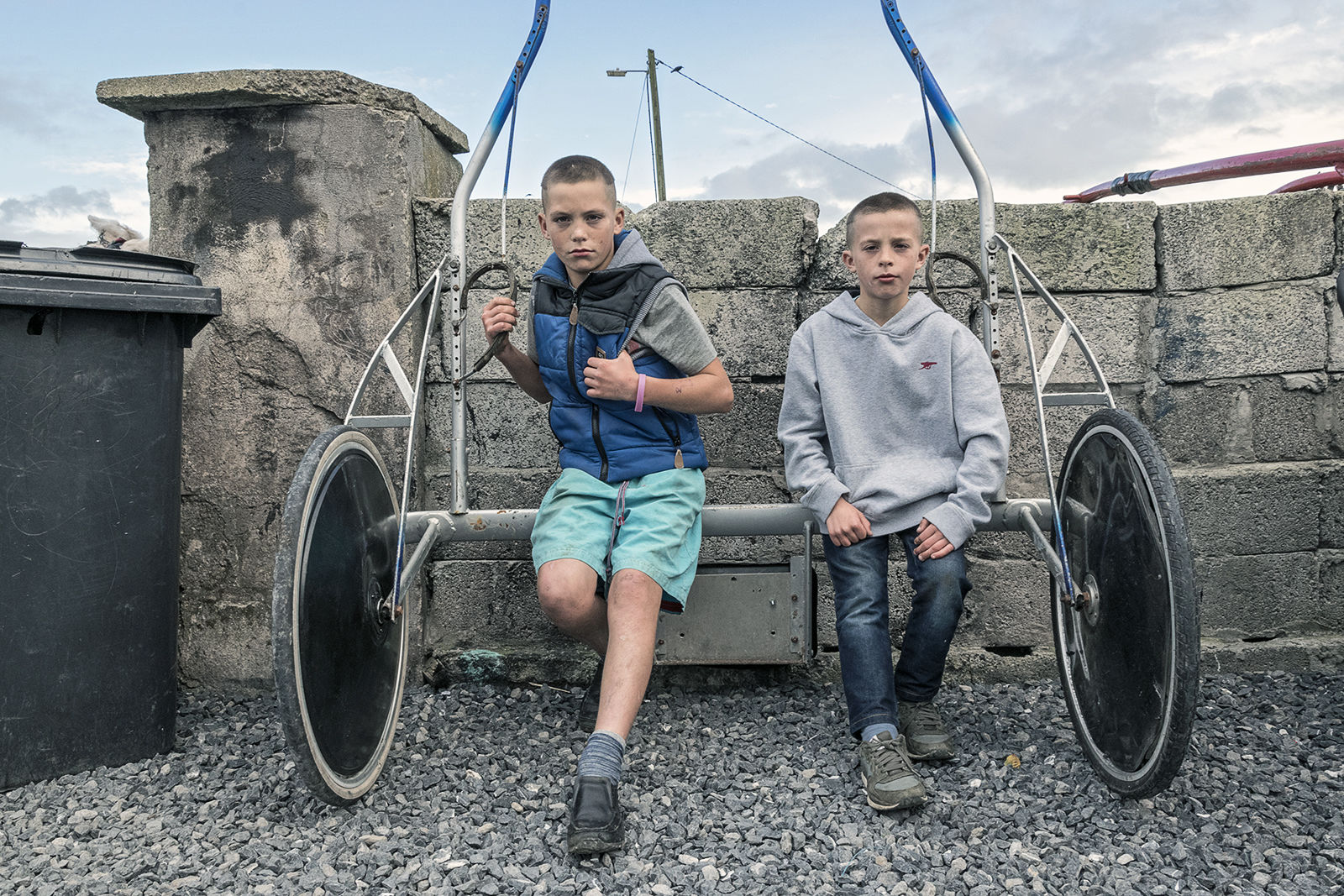 Rocky and Jimmy, Reilly Brothers, Tipperary, Ireland 2019