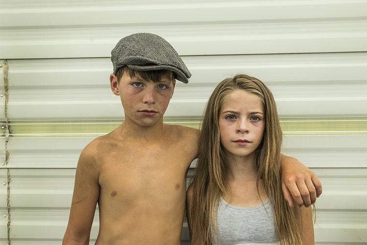 Rocky and Priscilla, roadside campsite, Tipperary, Ireland 2018