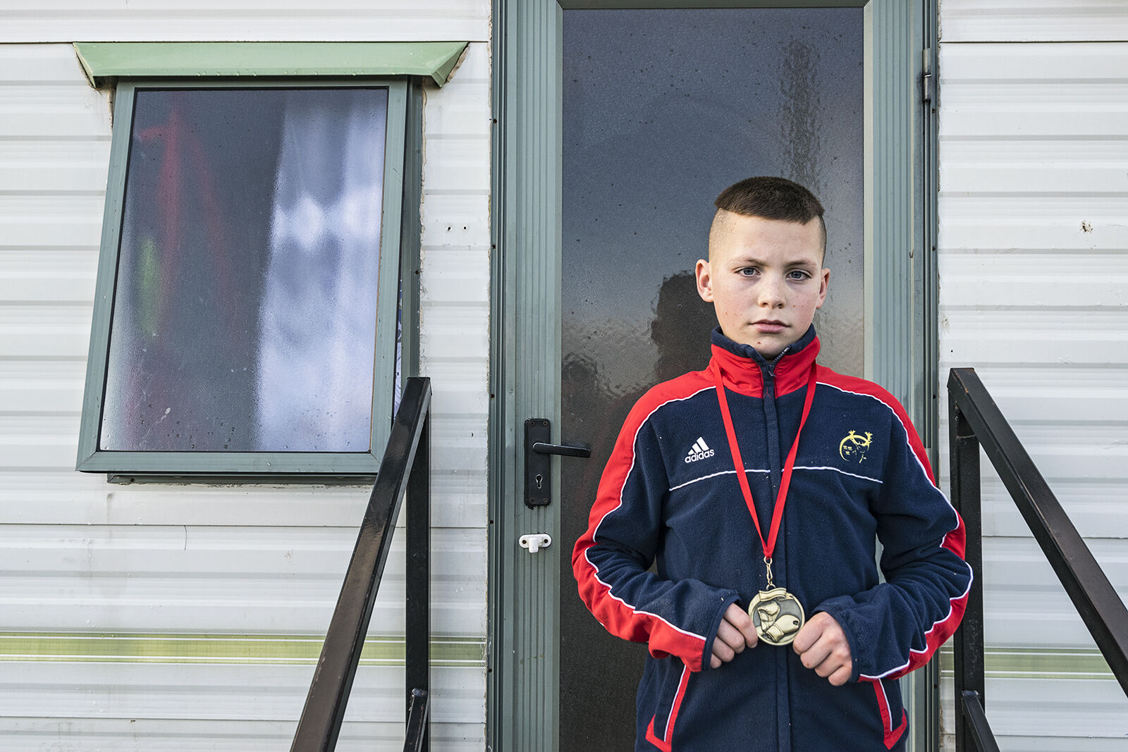 Rocky with his Boxing Medal, Tipperary, Ireland 2019