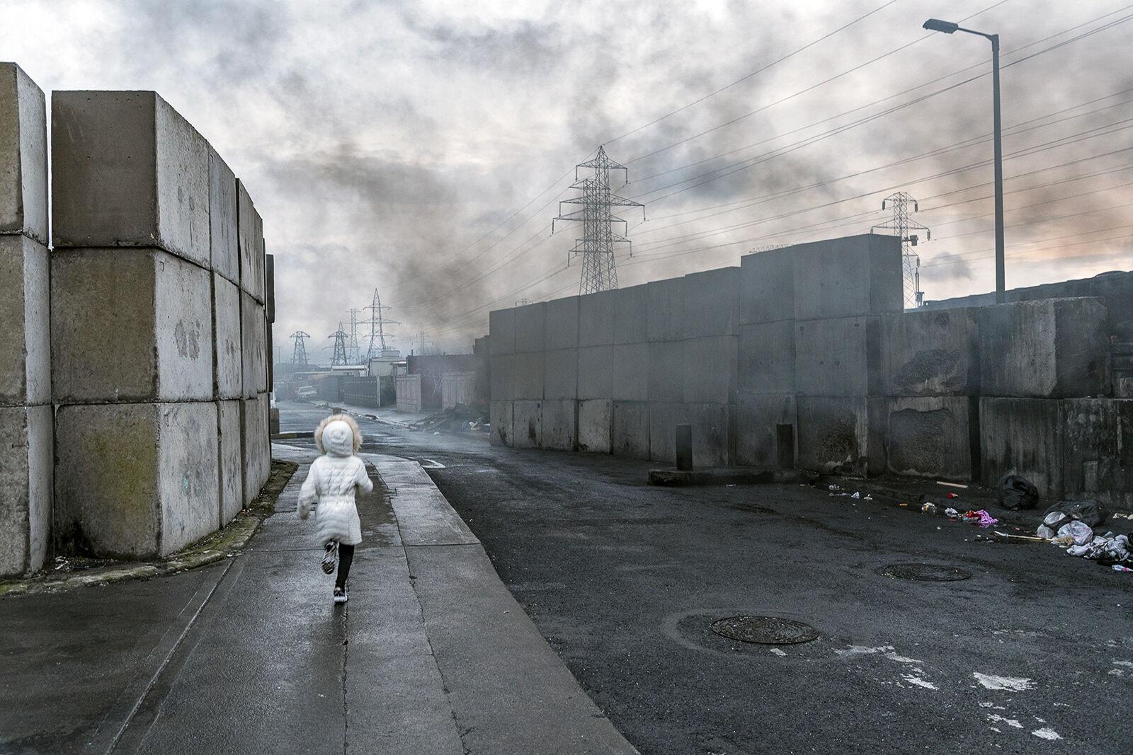 Running Child, Dublin, Ireland 2020