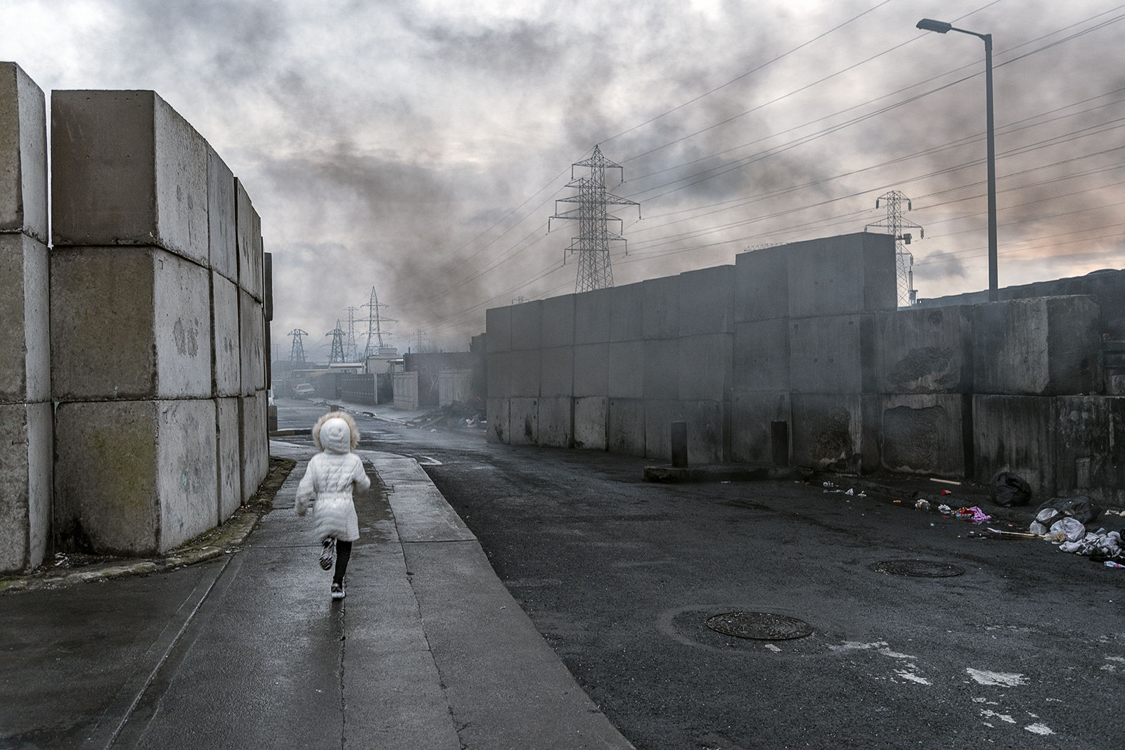 Running Child, Dublin, Ireland 2020
