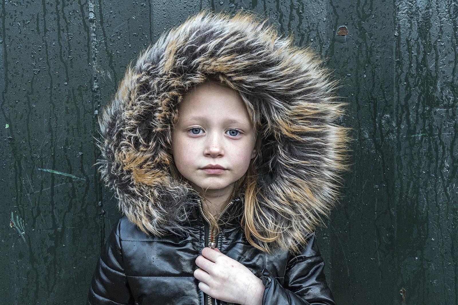 Savannah, Faux Fur Hoodie, Dublin, Ireland 2020
