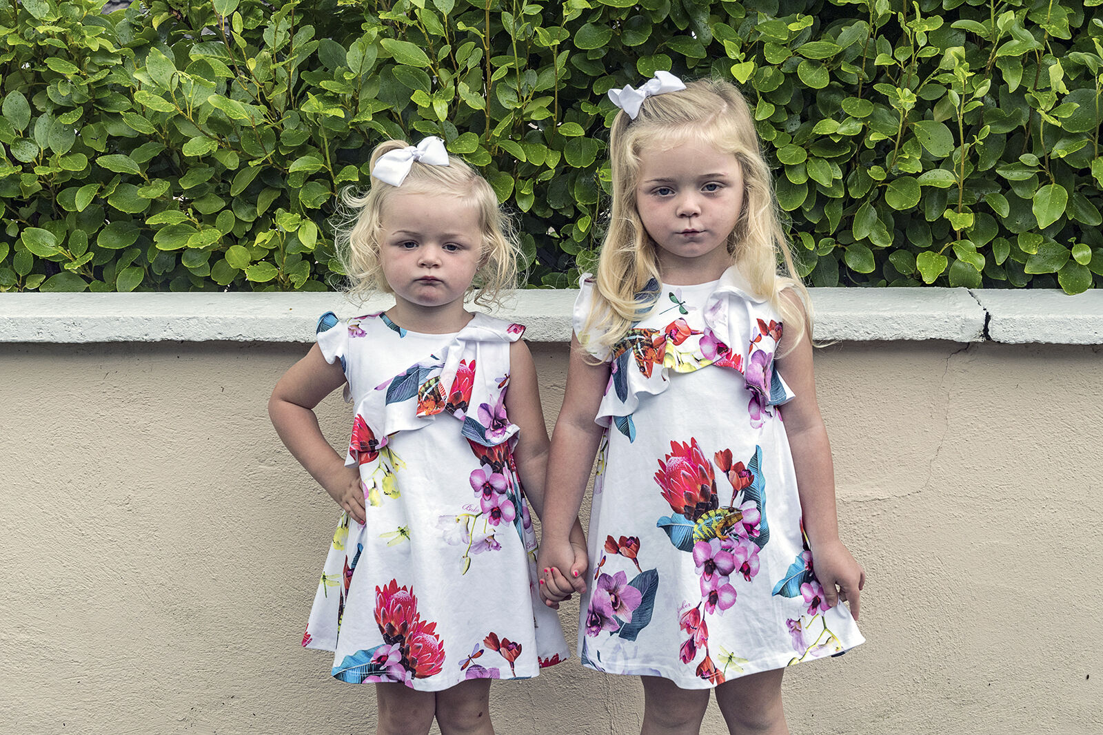 Tropical Flowers Dresses, Puck Fair, Kerry, Ireland 2020