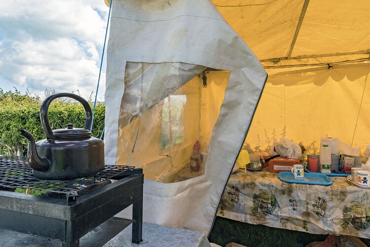 Temporary Kitchen, Appleby, UK 2019