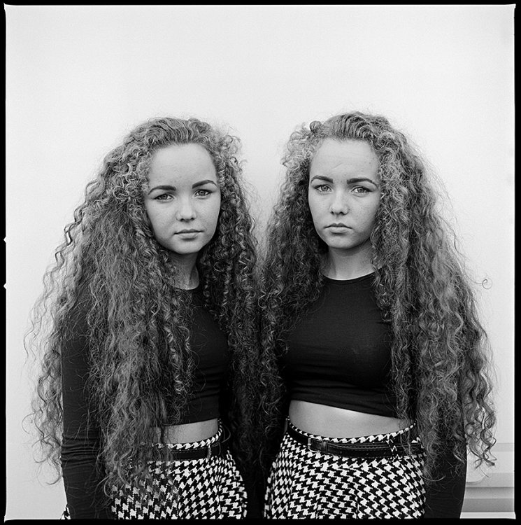 Margaret and Flowery, Twins, Ballinasloe, Galway, Ireland 2013